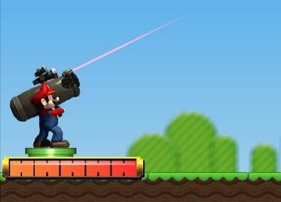Mario cu Tunul Devastator