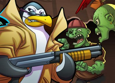Pinguini Vs Zombi 3
