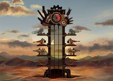 Turnul de Atac cu Aburi