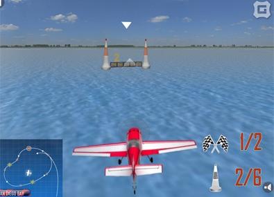 Acrobatii 3d cu avionul