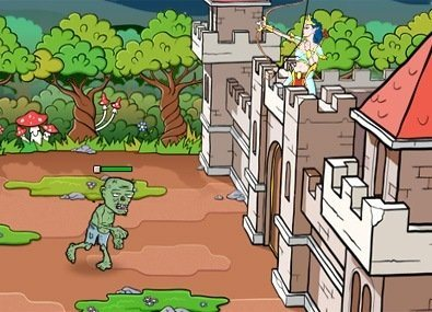 Apara Castelul de Zombi