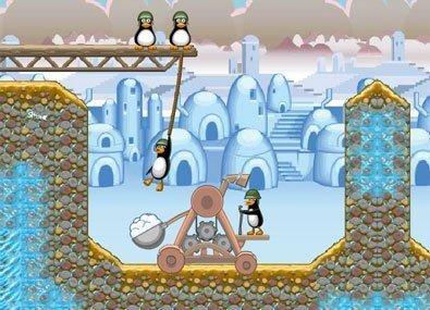 Capapulta Pinguinilor Nebuni