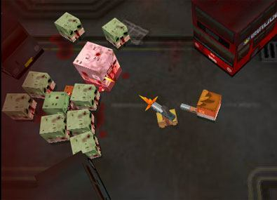Impusca Zombii Pixelati 3D