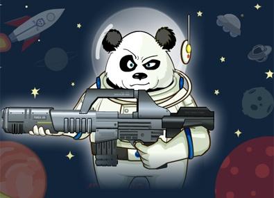 Panda vs Extraterestri