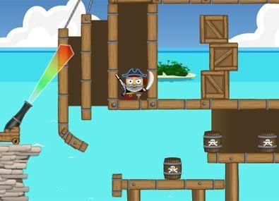 Pune Tunurile pe Pirati