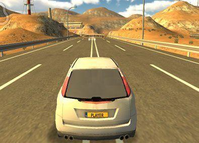 Raliu pe Autostrada Unity 3D